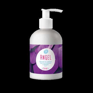 Jerelia-06013, Детский гель-шампунь для тела и волос с лавандой. 2 в 1, Jerelia ANGEL