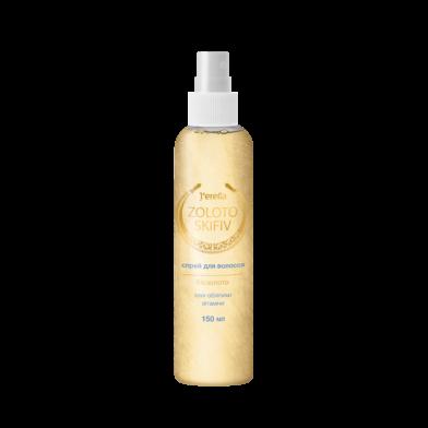 Jerelia Zoloto Skifiv: Спрей-кондиционер для волос с биозолотом, маслом облепихи и витаминами. jerelia-zoloto-skifiv-52508