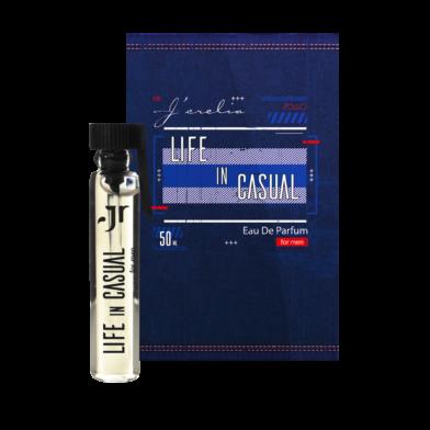 Jerelia Parfa: Пробник парфюмированной воды для мужчин Life in casual, Джерелия 24070