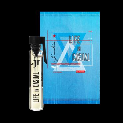 Jerelia Parfa: Пробник парфюмированной воды для женщин Life in casual, Джерелия 24071